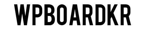 워프보드코리아